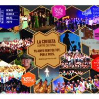 La Creueta Centre Cultural, programa activitats 1r. trimestre 2019