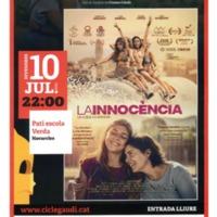 "Cicle Gaudi  de cinema en català ""La Innocència"". 2020"