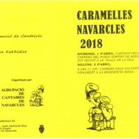 Caramelles 2018. Programa