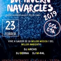 Nit de festa a la festa major d'hivern Navarcles 2019