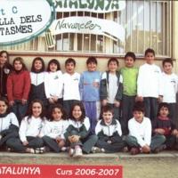 Alumnes Escola Catalunya 2006-2007_9222