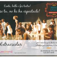 Music Stage. Campus teatre musical