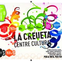 Programa de la Creueta Centre Cultural., setembre a desembre 2018
