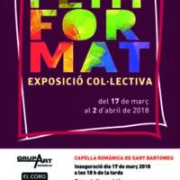 Petit Format. Exposició col·lectiva 2018