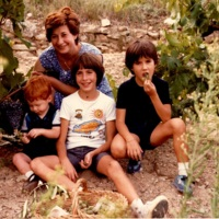 Foto de família a la verema de 1982_9881