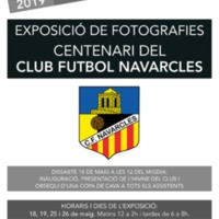 Exposició de fotografies Centenari del Club Futbol Navarcles 2019