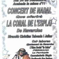 Concert de Nadal a càrrec de la coral de l'Esplai