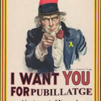 I want you for pubillatge 2018
