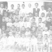 Alumnes Escola Dominical de nens 1927_3187-3188