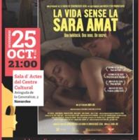 """Cicle Gaudí de cinema en català """"La vida sense la Sara Amat"""". 2019"""