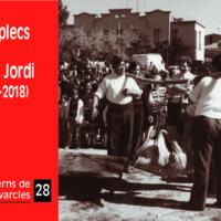 """Quadern de Navarcles nº 28.  """"50 aplecs de Sant Jordi (1969-2018)""""."""