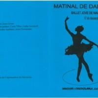 Matinal de dansa Ballet Jove de Navarcles
