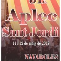 51è Aplec de Sant Jordi 2019