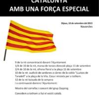 Una diada nacional de Catalunya amb una força especial