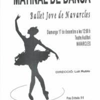 Matinal de dansa del Ballet Jove de Navarcles