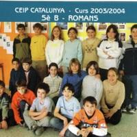 Alumnes Escola Catalunya 2003-2004_9178