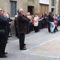 Inauguració de la façana de l'església de Santa Maria 2014_9707