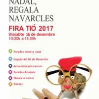 Aquest Nadal, regala Navarcles. FIRA TIÓ 2017. Fulletó