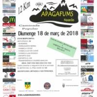 Caminada popular Apagafums 2018