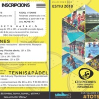 Les piscines, espai esportiu Navarcles. 2018