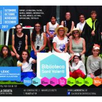 Programa La Creueta Centre Cultural setembre a desembre 2017