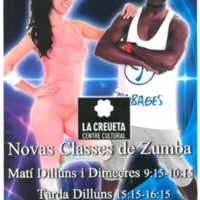 Noves classes de zumba