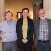 Visita de l'alcalde i el 1r tinent d'alcalde a la Diputació de Barcelona 2018_9557