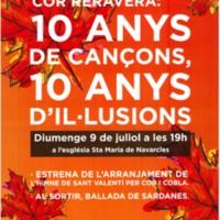 Cor Reravera: 10 anys de cançons, 10 anys d'il·lusions