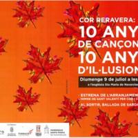 Cor Reravera: 10 anys de cançons, 10 anys d'il·lusions. Programa