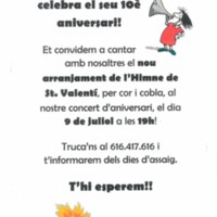 El Cor Reravera celebra el seu 10è aniversari