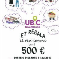 UBIC Navarcles et regala el teu somni amb 500 €