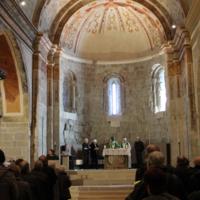 Missa de Sant Valentí al monestir de Sant Benet febrer 2019_9683